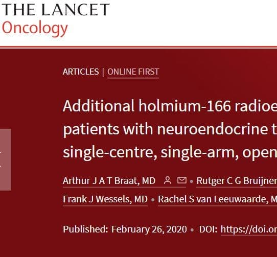 News: Lancet Oncology reports